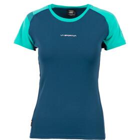 La Sportiva Move T-Shirt Donna, opal/aqua